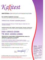 ISO 10002:2004<br /> TS ISO 1002:2006