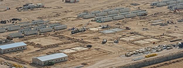 Camps Destinés à  l'exécution des projets de Pétrole et de Gaz